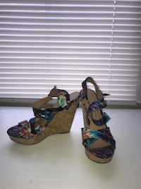 wedges size 7.5 Damascus, 20872