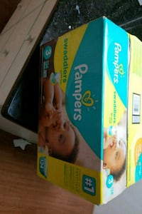 Pampers swaddlers size 3 124 ct Lexington