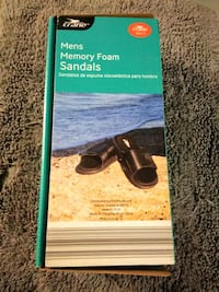 Men's Memory Foam Sandals available in sizes 11 & 12 Chicago, 60643