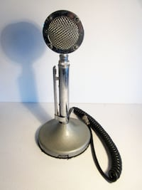 Vintage Microphone Astatic Brand D-104 Catharpin