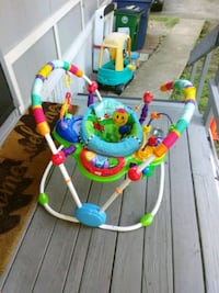 baby's multicolored jumperoo Austin