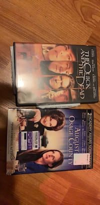 two assorted-title DVD cases 1144 mi