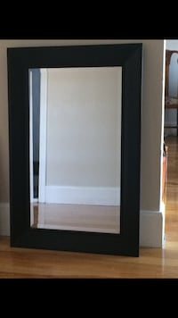 """Mirror with wooden frame (24x36"""")"""