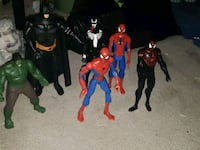 assorted Marvel character action figures Kitchener, N2E 1H2