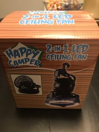 New Happy Camper LED Ceiling Fan  Toronto, M5V
