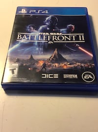 Sony ps4 star wars battlefront 2 game, no scratches  Langley, V3A 2E7