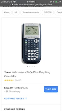 Graphing calculator $100 obo