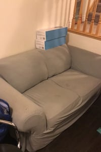 Loveseat with cover