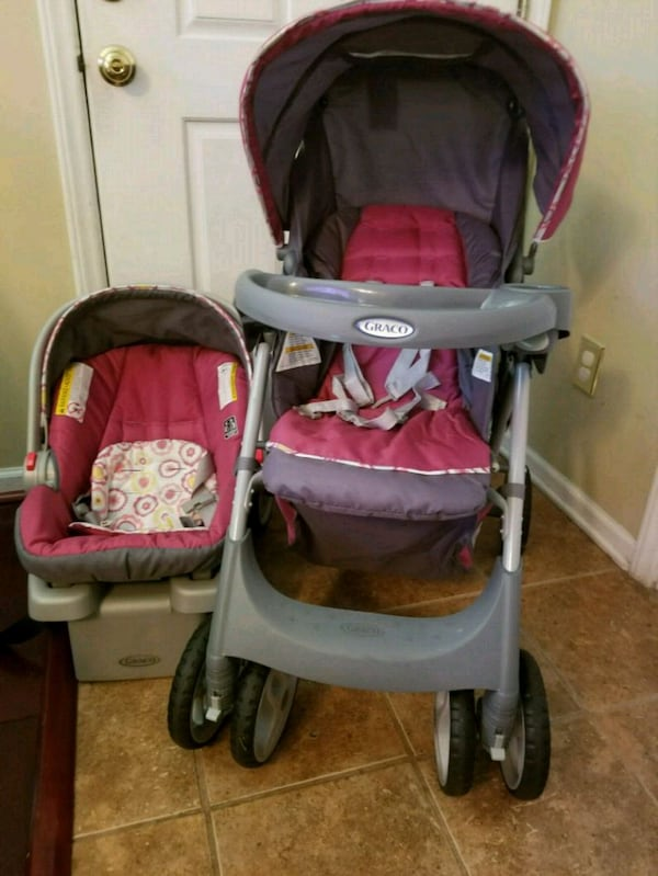 Sold Bundle Graco Infant Car Seat And Stroller Combo In Raleigh