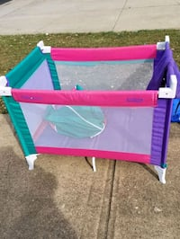 Greco pack and Play portable crib Sterling