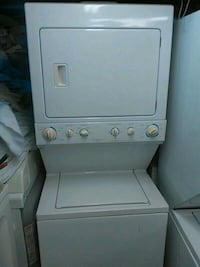 white stackable washer and dryer Houston, 77057
