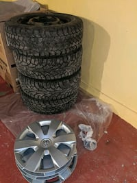 Toyota Winter tires with rims. P215/60 R16 Waterloo, N2L 4V5