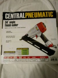 Central Pneumatic 34°angle finish Nailer Warrenton, 20186