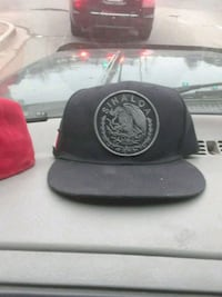 black and red fitted cap Arvada, 80002
