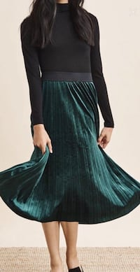 Velvet Green Skirt from Dynamite Toronto, M2J 1W6