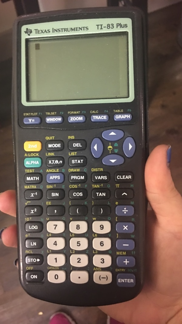 TI-83 Plus Graphing Calculator