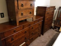 5 piece bedroom set  Colorado Springs, 80911