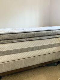 Serta perfect sleeper twin size hybrid bed set and mattress Marlborough, 01752