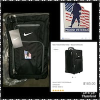 Nike embroidered Veteran suitcase  Dayton, 45424