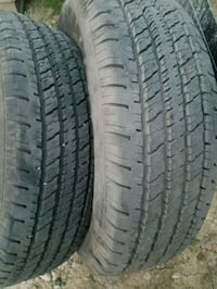 235/70/R15 Two hankook truck tires Valley Grove