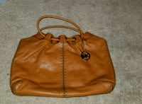 women's brown leather tote bag Washington, 20004