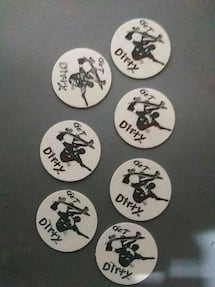 Get Dirty Skateboard pogs