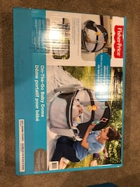 Never used in box Fisher Price on the go baby dome Calgary, T2K 4S1