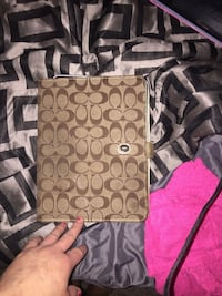 Coach Tablet or PC case $40 obo