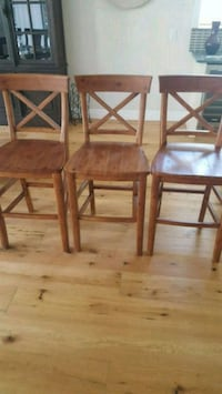 3 new wooden barstools Port St. Lucie, 34953