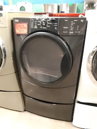 KENMORE front load dryer with pedestal