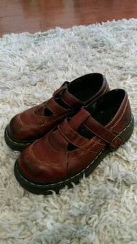 Doc Martens Mary Janes Brown Leather Shoes El Paso, 79936