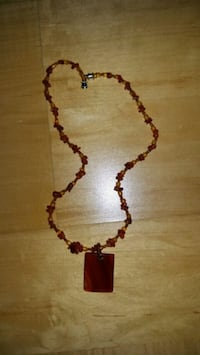 Beautiful beaded necklace with penant Toronto, M8V 4B8