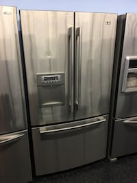stainless steel french door refrigerator 549 km