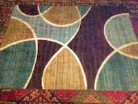 Rug 5 x 7 professional cleaned Moss Point, 39562