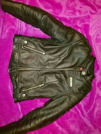 Leather motorcycle jacket Fort Lauderdale, 33312
