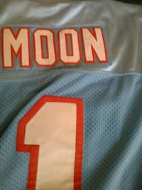 Warren Moon #1 Houston Oilers Washington