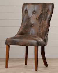 Brown Upholstered Chairs, set of 2 Still in Box  West Caldwell, 07006