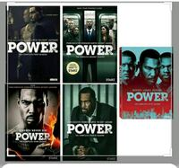 POWER SEASON 1-5 complete (dvd)... Davenport