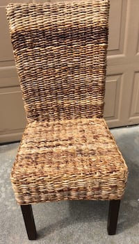 Dining Chair, decor, Natural Wicker Portsmouth, 23707