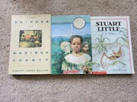 3 middle school books