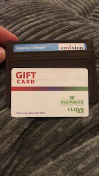 Willow brook gift card  Langley, V1M 4G5
