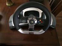 Xbox racing wheel / games and console Brampton