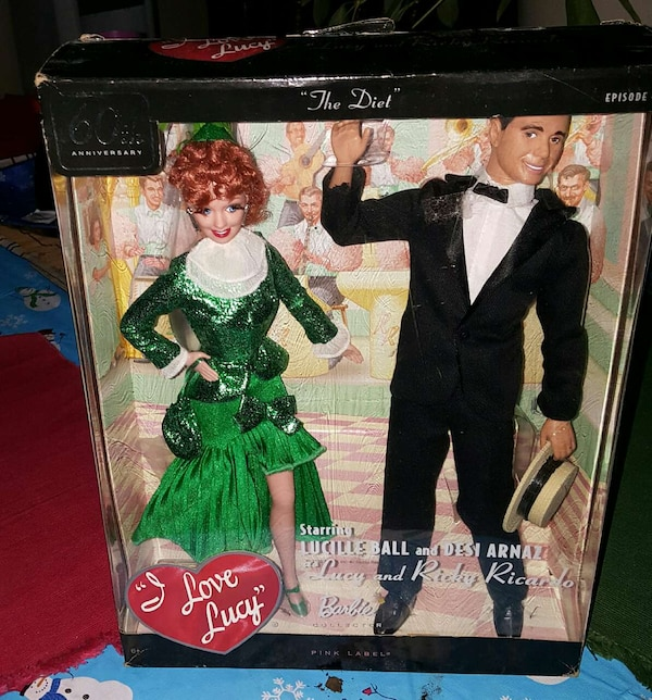 Used I Love Lucy Barbie Set For Sale In Colorado Springs Letgo
