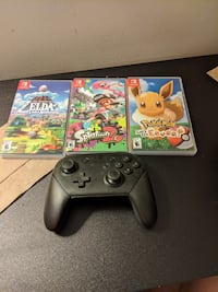 Switch games and controller