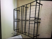 Queen size foldable metal bed frame  Falls Church, 22042