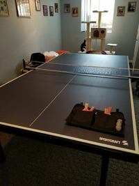 Sportcraft Ping Pong Table - Lowered