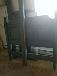 Grey/gray full bed frame Fort Collins, 80525