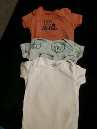 Carters 9 month onsies  East Gwillimbury, L0G 1R0