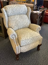 New Grey Print BarcaLounge Recliner