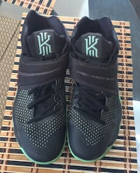 Size 12 Green and Black Kyrie Shoes
